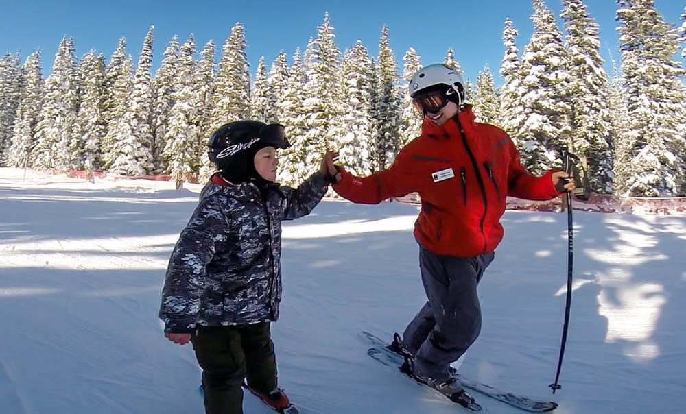 Skiing with Autism at Ascendigo Winter Adventures Camp